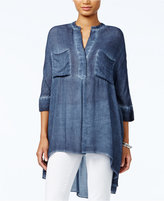 Tommy Hilfiger High-Low Tunic, Only at Macy's