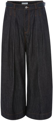 J.W.Anderson Pleated Cropped Trousers