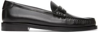 Saint Laurent Black Pierre Loafers