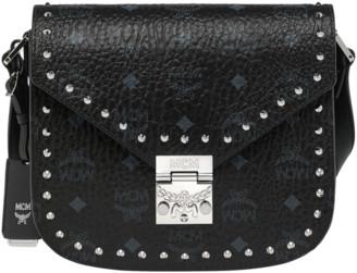 MCM Patricia Shoulder Bag in Studded Outline Visetos