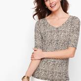 Talbots Animal Print Sweater