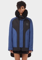 Versace Shearling Collar Down Jacket