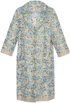 Luisa Beccaria Linen Embroidered Coat