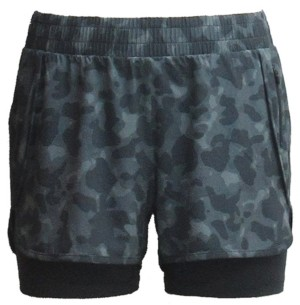 Ideology Camo Layered Shorts, Created for Macy's
