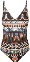 Mary Katrantzou printed swimsuit - women - Polyester/Spandex/Elastane - S