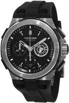 Concord C2 Automatic Chronograph Men's Rubber Strap Swiss Made Watch 0320188