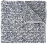 Coohem pile aran knit muffler
