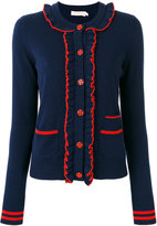 Tory Burch ruffled cardigan