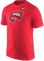 Nike Men's Red Western Kentucky Hilltoppers Big Team Logo T-Shirt