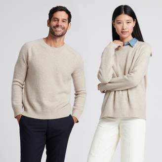 Naadam The Luxe Unisex Cashmere Sweater Oatmeal