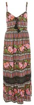 Band of Gypsies Havana Print Maxi Dress by