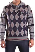 Napapijri Men's Grey Cotton Sweatshirt.