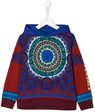 Versace mandala print hoodie