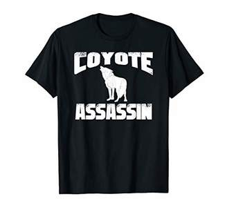 Hunter Funny Coyote Dog Hunting T-Shirt - Great Gift Idea