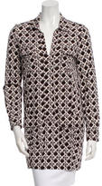 Diane von Furstenberg Dilly Silk Tunic