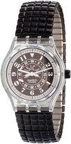 American Apparel Vintage Swatch Musicall Black Awake Watch