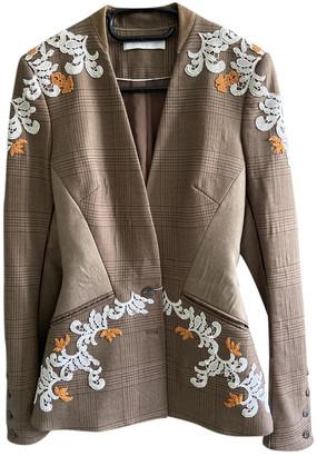 Jonathan Simkhai Beige Wool Jackets