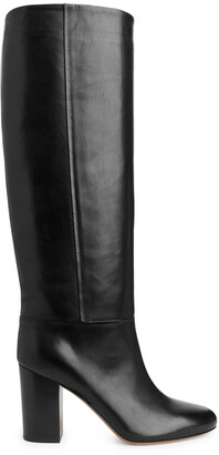 Arket High-Heel Leather Boots