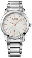 HUGO BOSS 1513401 Men's Classic Date Bracelet Strap Watch, Silver