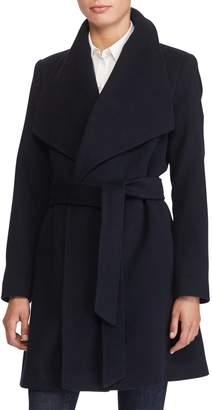 Lauren Ralph Lauren Cashmere & Wool Wrap Coat