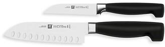 Zwilling J.A. Henckels Four-Star 2-Piece Asian Knife Starter Set