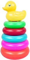 Sealive Creative Baby Bath Toys Stacking Rings Duck Stacker Shape For Kids Tub Pool Gift,Great Beach Toy for Boys and Girls
