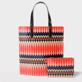 Paul Smith No.9 - Women's Multi-Coloured Patent Leather Tote Bag