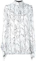 Proenza Schouler branch print shirt - women - Silk/Viscose - 4