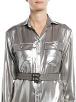 Ralph Lauren Leather Belt w/ RL Hardware
