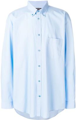 Balenciaga Bal button down shirt