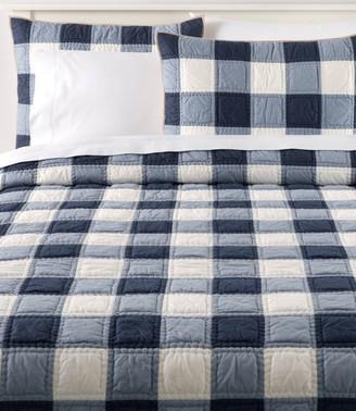 L.L. Bean Plaid Patchwork Quilt Collection