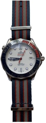 Omega Seamaster 300 White Steel Watches