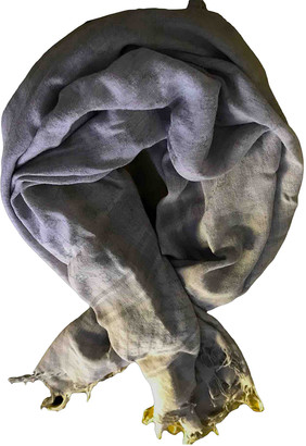 Gucci Grey Polyester Scarves
