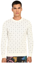 Love Moschino Logo Print Knit Sweater