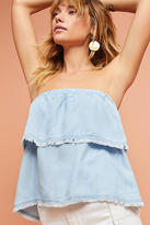 Cloth & Stone Tiered Strapless Top