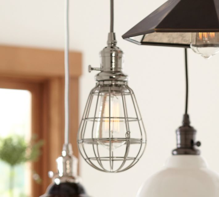 Thumbnail for your product : Pottery Barn PB Classic Pendant - Caged