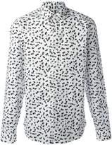 Kenzo Post It slim-fit shirt