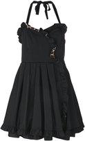 Marc Jacobs frilled dress - women - Silk/Polyester/Spandex/Elastane - 0