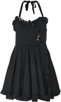 Marc Jacobs frilled dress - women - Silk/Polyester/Spandex/Elastane - 2