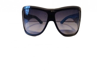 Saint Laurent Blue Plastic Sunglasses