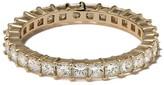 Dana Rebecca Designs 14kt yellow gold Millie Ryan princess cut diamond eternity ring