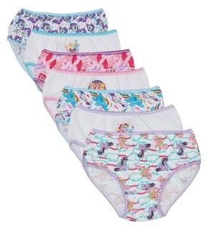 My Little Pony My Little Pony, Girls Underwear, 7 Pack Panties, Sizes 4 - 8