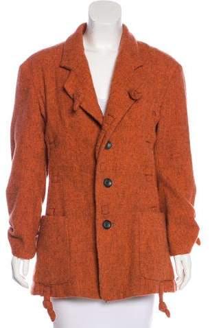 Issey Miyake Wool Short Coat