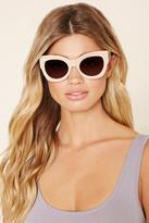 Forever 21 Gradient Cat Eye Sunglasses