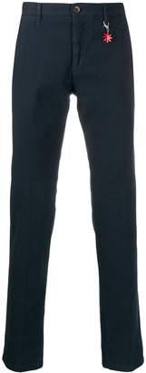 Manuel Ritz slim-fit chino trousers