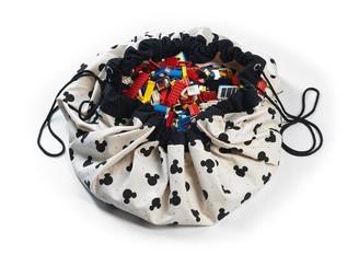 PlayGo LTD Play & Go 2-In-1 Storage And Playmat Mickey Black