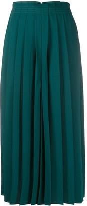 MM6 MAISON MARGIELA Wide-Leg Pleated Culottes