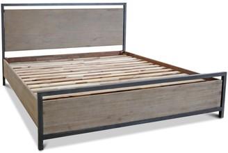 Apt2B Lofton Platform Bed ACACIA/IRON