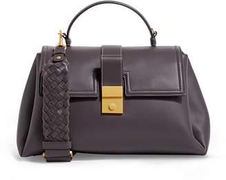 Bottega Veneta Medium Leather Piazza Top Handle Bag