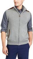 Chaps Men's Classic-Fit Suede-Trim Sweater Vest